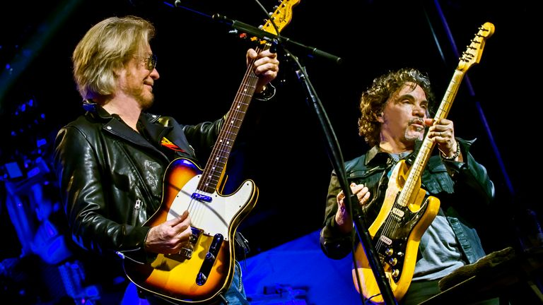 Hall (L) says him and Oates stay out of each other's way. Pic: Stuart Berg