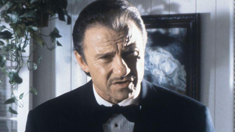 Harvey Keitel as Winston Wolfe in Pulp Fiction. Pic: Linda R Chen/Miramax/Buena Vista/Kobal/Shutterstock