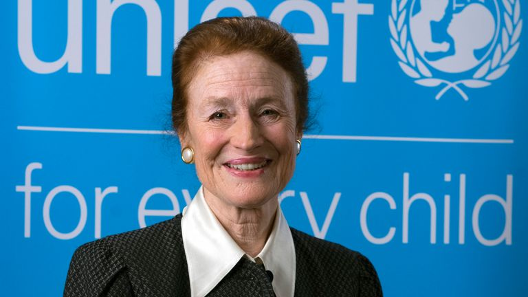OFFICIAL PORTRAIT:  On 29 December 2017, UNICEF Executive Director Henrietta H. Fore at UNICEF House. Ms. Fore, who begins her tenure on 1 January 2018, is UNICEF...s seventh Executive Director.
