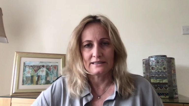 Clare Moseley, chief executive of Care4Calais most asylum seekers using the Aspen card live hand to mouth