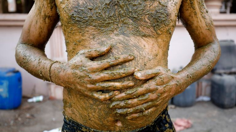 Doctors in India have warned against the practice of using cow dung in the belief it will ward off COVID-19