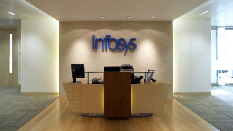 Infosys has operations across the UK including London's Canary Wharf