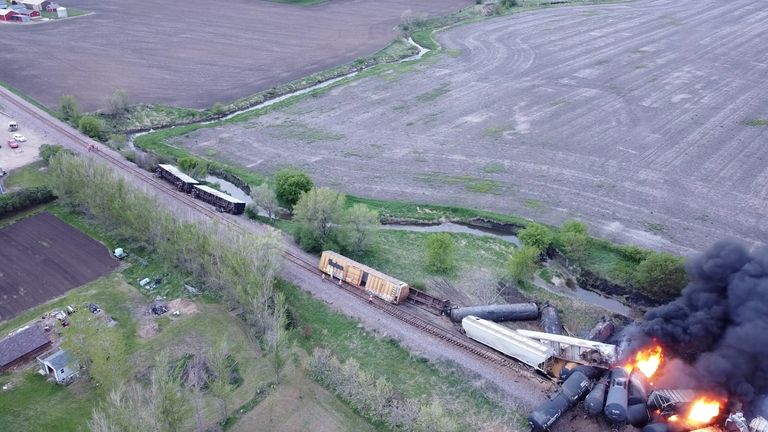 The incident is currently under investigation, with Union Pacific working with first responders at the scene
