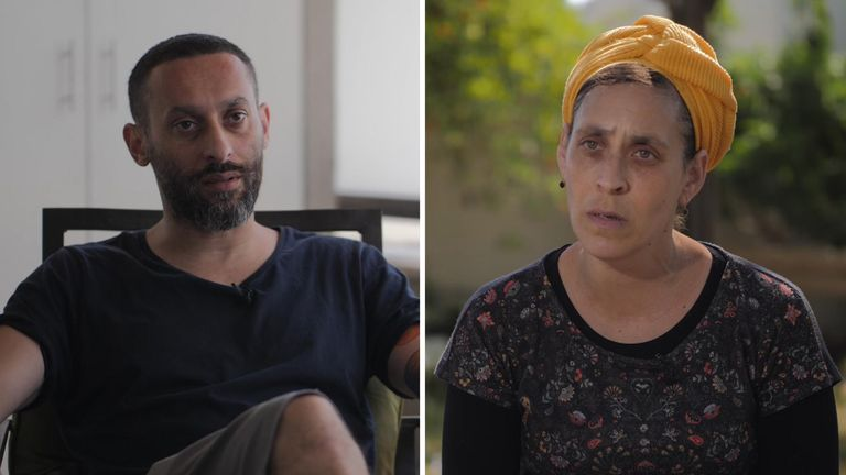 Tamer Nafar and Katy Berman both live in the Israeli city of Lod