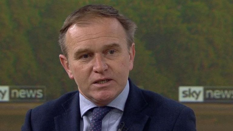 Environment Secretary George Eustice said the rockets sent into Israel from Gaza were 'completely unacceptable'.