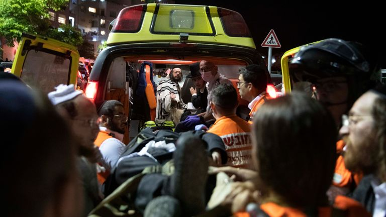 More than 150 people have been injured and two killed