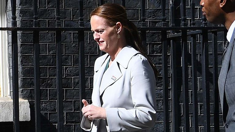 File photo dated 5/7/2020 of Jenny McGee, the nurse who looked after Boris Johnson when he was seriously ill with COVID-19