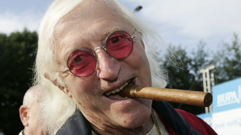 Jimmy Savile pictured in 2006. Pic: Action Images/Lee Smith/Reuters