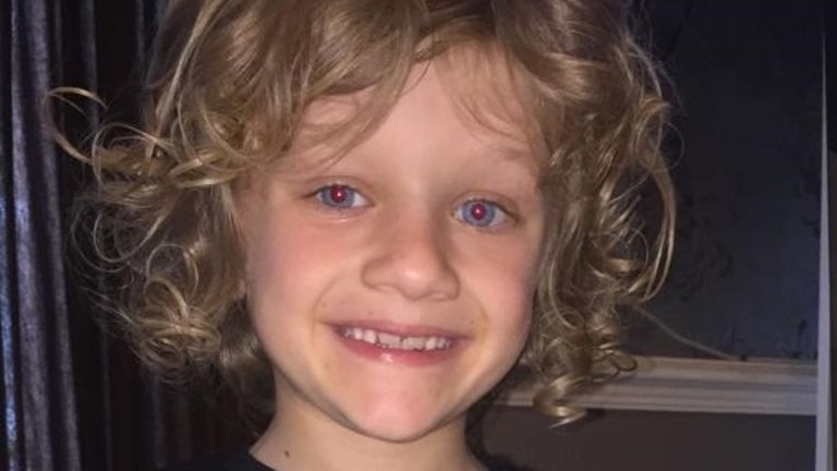 Jordan Banks, 9, died in hospital on Tuesday