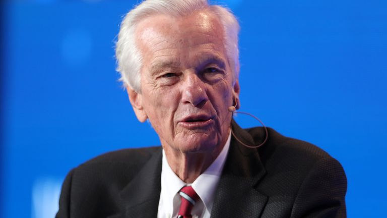 Jorge Paulo Lemann, Co-Founder and Board Member, 3G Capital; Board Member, Kraft Heinz, speaks at the Milken Institute's 21st Global Conference in Beverly Hills, California, U.S. April 30, 2018