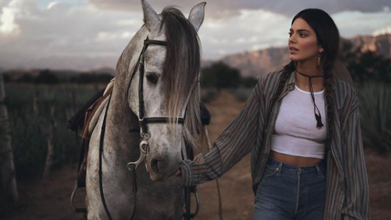 Kendall Jenner stars in the 818 tequila campaign