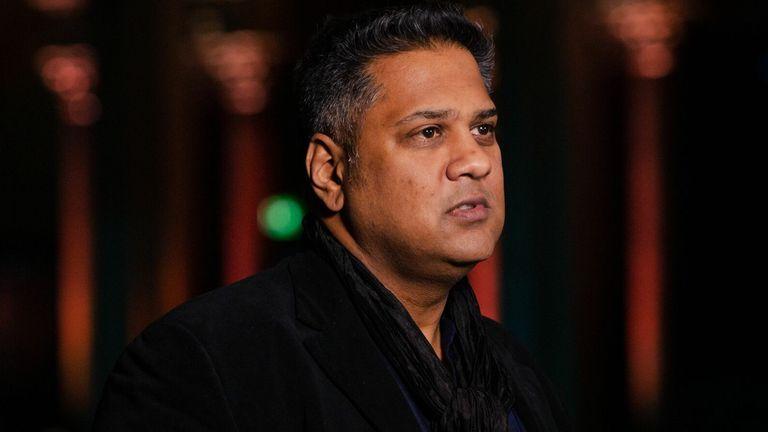 BAFTA chair Krishnendu Majumdar ahead of the 2021 nominations. Pic: Jamie Simonds/BAFTA/Shutterstock