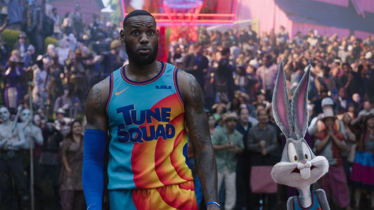 LeBron James and Bugs Bunny are both in the next Space Jam movie. Pic: Warner Bros Pictures