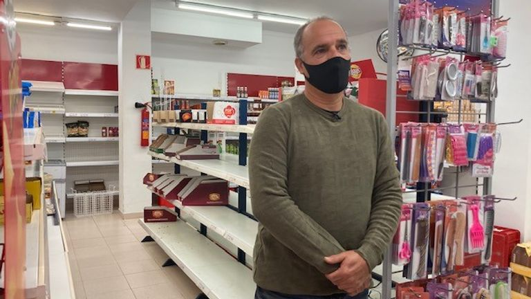Alfonso Sánchez ¬– Supermarket Owner