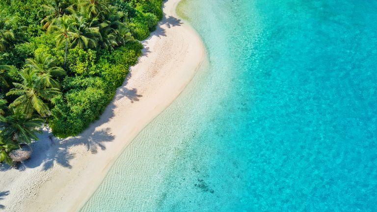 Maldives beach. Pic: istock
