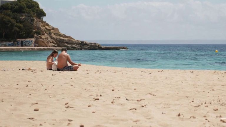 Tourists numbers are a fraction of usual on Mallorca