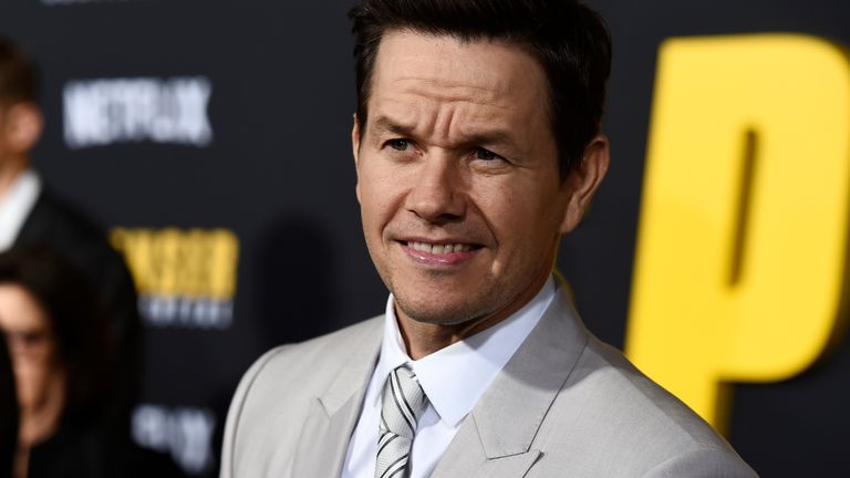 Mark Wahlberg, star of Netflix film Spenser Confidential, at the film's premiere in LA in 2020. Pic: AP