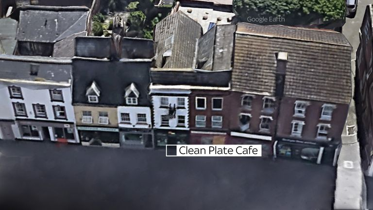 Police are excavating the basement of the Clean Plate café in an effort to find the remains of  Mary Bastholm, a suspected victim of Fred West
