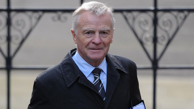 Max Mosley arrives at the Royal Courts of Justice in London to give evidence to the Leveson Inquiry about his experiences of media intrusion. Read less Picture by: Stefan Rousseau/PA Archive/PA Images Date taken: 24-Nov-2011