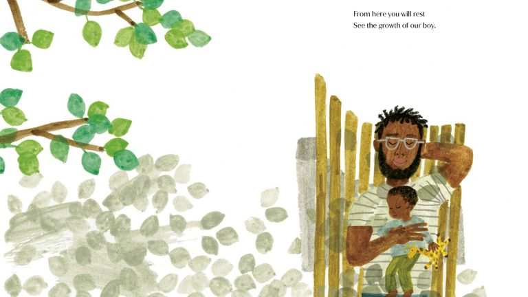 Undated handout photo issued by Random House of the cover of The Bench, the debut children's book written by the Duchess of Sussex, with illustrations by artist Christian Robinson, which will be published by Puffin, an imprint of Penguin Random House UK, on June 8. Issue date: Tuesday May 4, 2021.