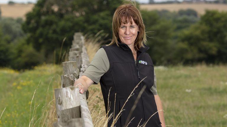 مینت باتر رئیس رئیس کشاورزان ملی است & # 39؛  اتحادیه انگلیس و ولز