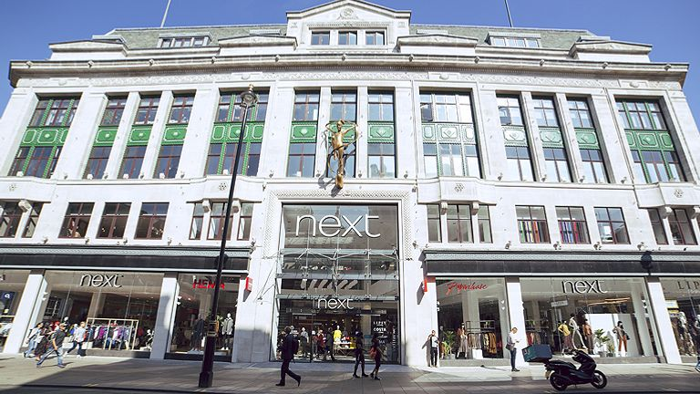 Next's flagship store on London's Oxford St. Pic: Next