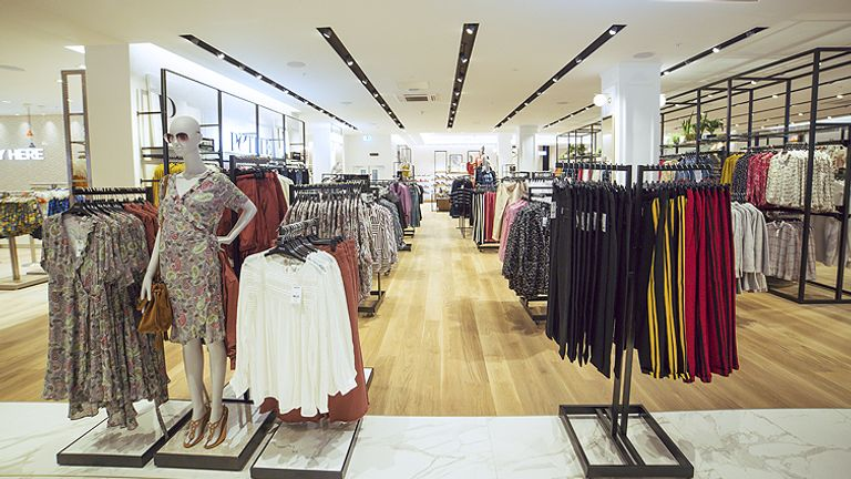 Next said that it expected pent-up demand for fashion to tail off