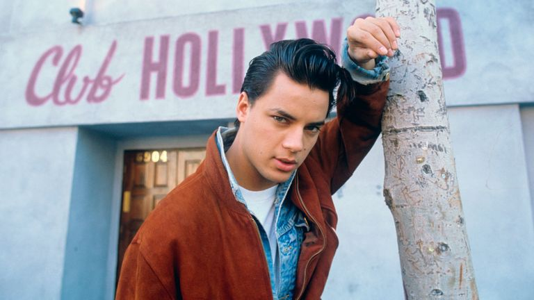Nick Kamen in December 1986 in Los Angeles. Pic: AP