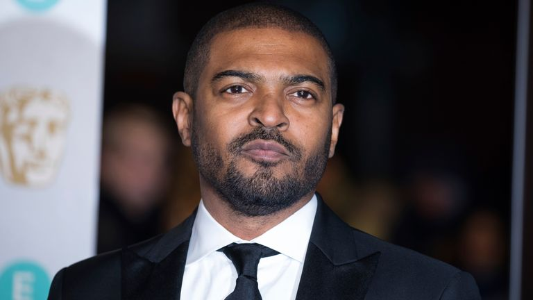 Noel Clarke at the BAFTA Film Awards in London in 2019. Pic: AP