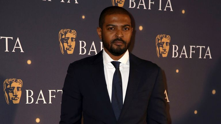 Noel Clarke poses for photographers at a BAFTA fundraising gala in 2019. Pic: AP