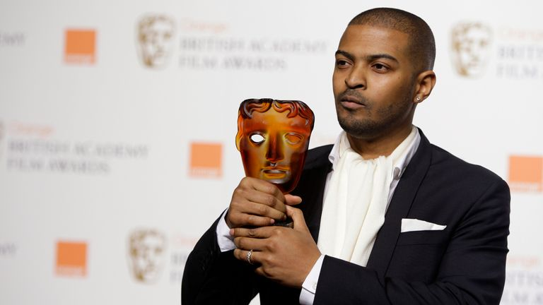 British actor and director Noel Clarke wins BAFTA's Rising Star Award in 2009. Pic: AP