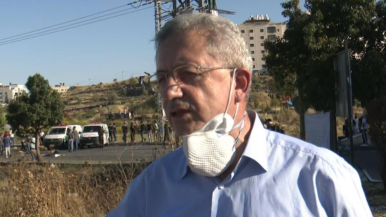 Mustafa Barghouti - Palestinian politician
