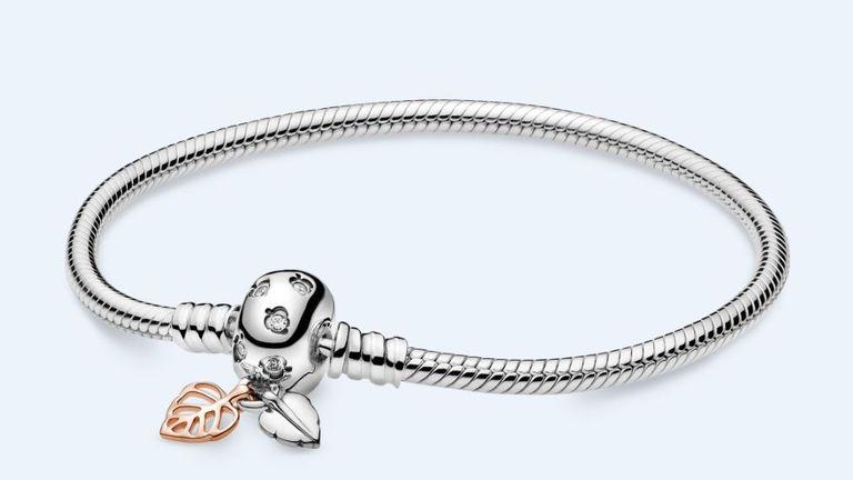 Pandora bracelet undated image from media site 4/5/21 Pic: Pandora