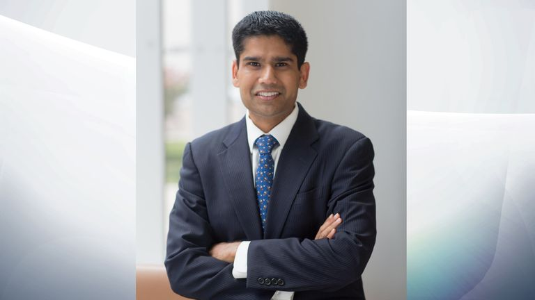 Dr Ranjith Ramasamy lead the study. Pic: University of Miami Health System