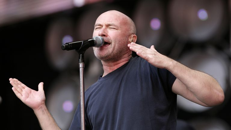 Take a look at Phil now: The singer has enjoyed a surge in popularity among the younger generation