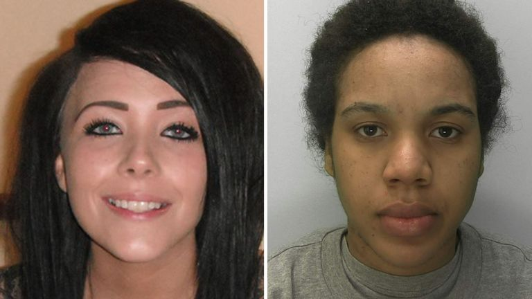 (L-R) Phoenix Netts and Garecca Gordon. Pic: West Midlands Police
