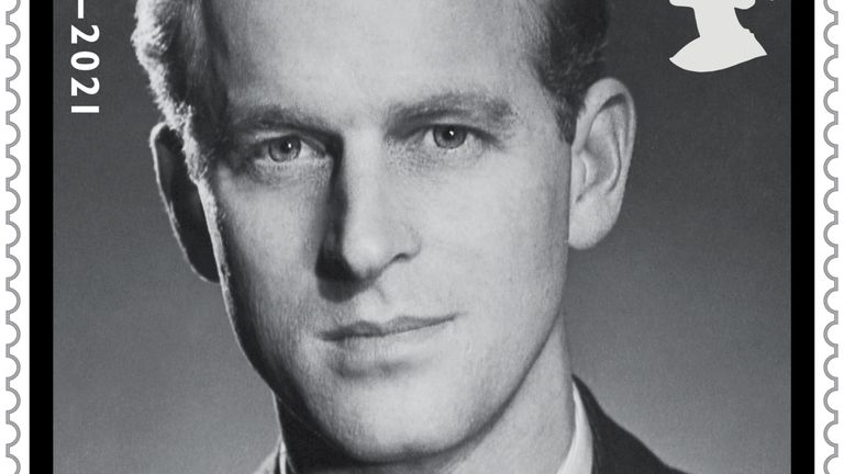 Undated handout image issued by Royal Mail of a 2nd class stamp with a photograph of the Duke of Edinburgh taken by the photographer Baron. The Royal Mail are issuing four new stamps in memory of HRH The Prince Phillip, Duke of Edinburgh who died on April 9 this year.