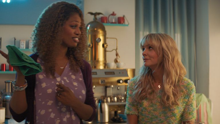 Laverne Cox and Carey Mulligan in Promising Young Woman. Pic: Focus Features