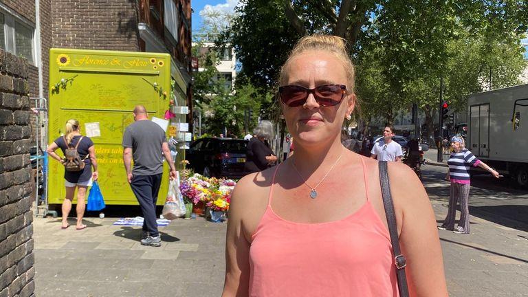 Rebekah Kelly is organising a vigil for Mr Eastlake following his death