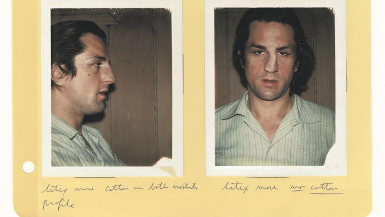 Raging Bull, Robert De Niro. Pic: The Robert De Niro archives courtesy of Coattail Publications