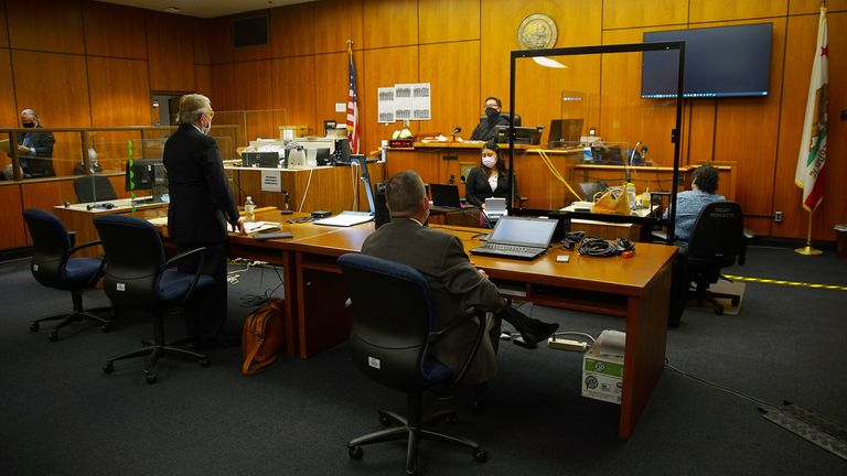 Mr DeGuerin appears before Judge Mark E Windham who denied an emergency motion