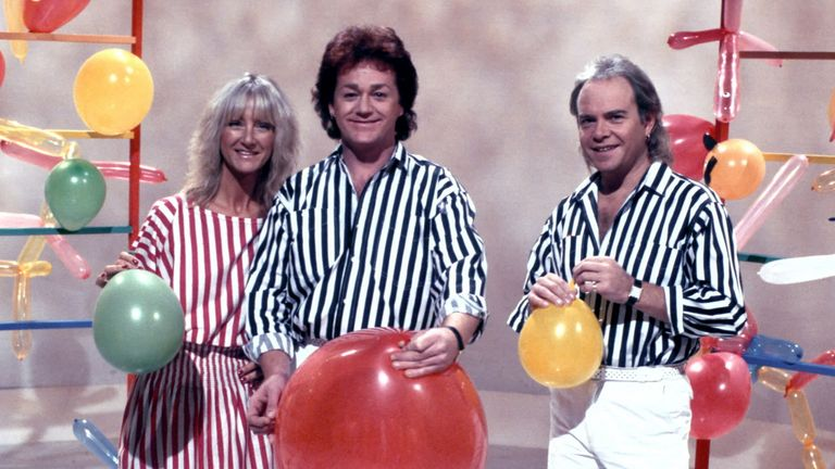 The Rod, Jane and Freddy Show: Jane Tucker, Freddy Marks and Rod Burton. Pic: Fremantle Media/Shutterstock