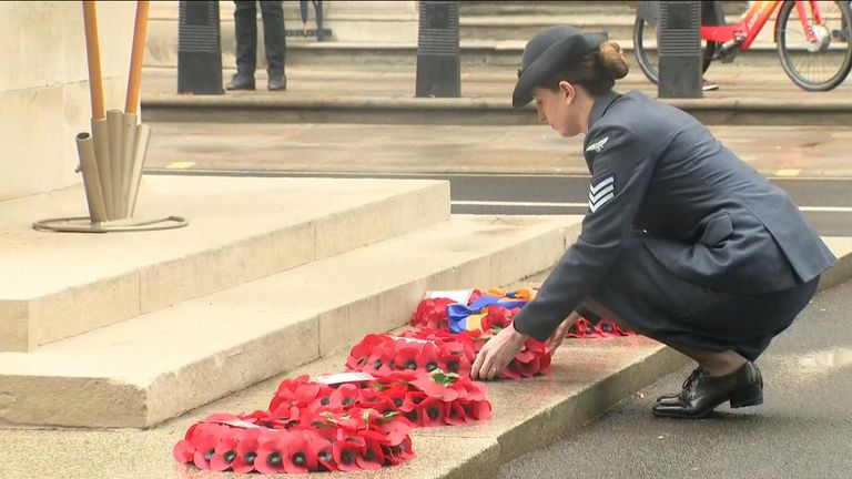 The Royal British Legion has marked its centenary today.