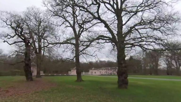 Prince Andrew lives at Royal Lodge in Windsor Great Park. Pic: Google Street View