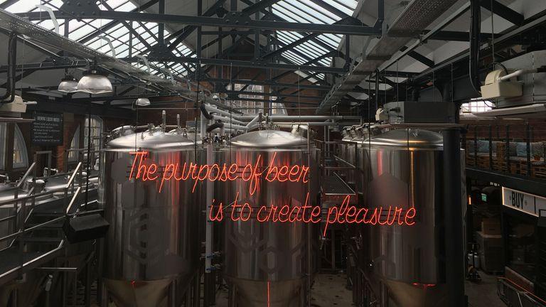 The Salt Beer Factory in Saltaire