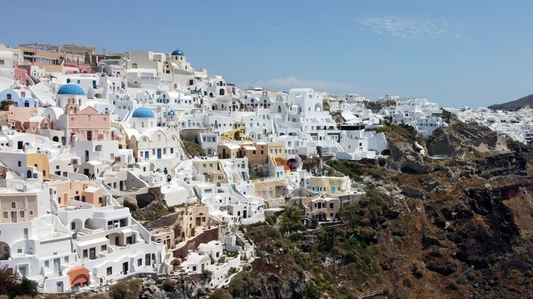 Greece could reportedly be one of the destinations named on the green list