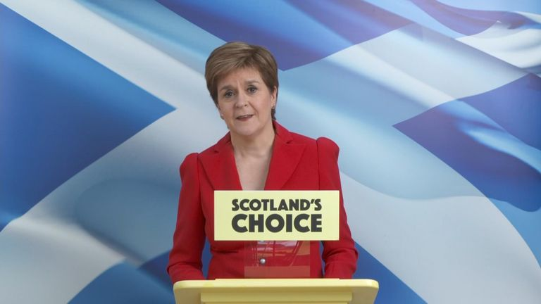 Nicola Sturgeon: Indyref2 the 'will of the country