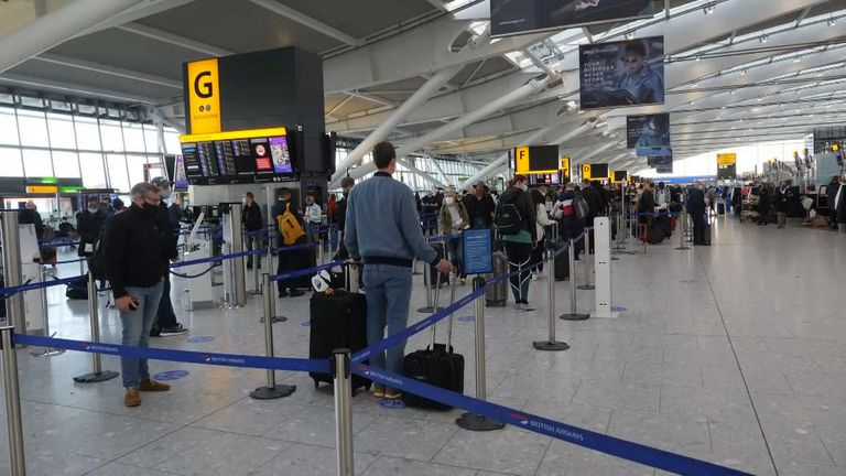 Airports open for business in the UK