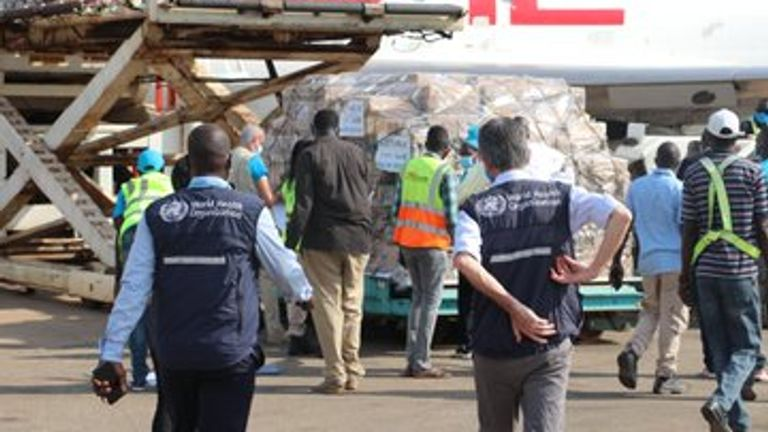 South Sudan received 132,000 doses in March through COVAX