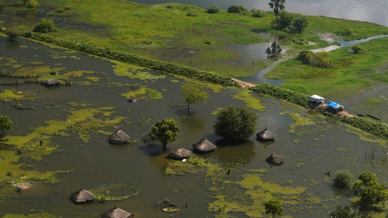 Unprecedented rainfall in recent years has destroyed infrastructure and grazing lands.